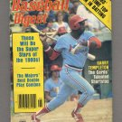 Baseball Digest June 1978 with Garry Templeton of the St. Louis Cardinals on the Cover