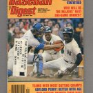 Baseball Digest January 1979 with Paul Blair / Reggie Jackson of the New York Yankees on the Cover