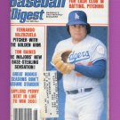Baseball Digest August 1981 with Fernando Valenzuela of the Los Angeles Dodgers on the Cover