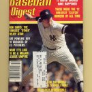 Baseball Digest October 1981 with Ron Davis of the New York Yankees on the Cover