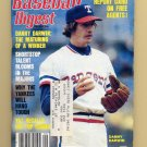 Baseball Digest September 1981 with Danny Darwin of the Texas Rangers on the Cover