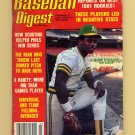 Baseball Digest March 1981 with Rickey Henderson of the Oakland A's on the Cover