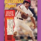 Baseball Digest January 1981 with Tug McGraw of the Philadelphia Phillies on the Cover