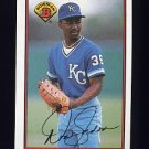 1989 Bowman Baseball #115 Tom Gordon RC - Kansas City Royals