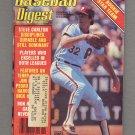 Baseball Digest November 1983 with Steve Carlton of the Philadelphia Phillies on the Cover