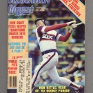 Baseball Digest October 1983 with Ron Kittle of the Chicago White Sox on the Cover