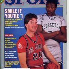 Sport Magazine December 1984 with Patrick Ewing of the Georgetown Hoyas on the Cover