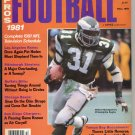1981 Sports Quarterly Football with Wilbert Montgomery of  the Philadelphia Eagles on the Cover