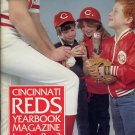 1983 Cincinnati Reds Yearbook Magazine with Team Card Set
