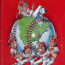 1976 World Champion Cincinnati Reds Baseball Yearbook Magazine