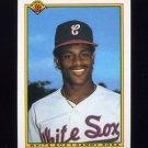 1990 Bowman Baseball #312 Sammy Sosa RC - Chicago White Sox