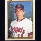 1990 Bowman Baseball #290 Gary DiSarcina RC - California Angels