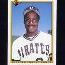 1990 Bowman Baseball #181 Barry Bonds - Pittsburgh Pirates