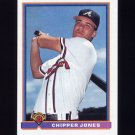 1991 Bowman Baseball #569 Chipper Jones RC - Atlanta Braves