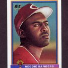 1991 Bowman Baseball #537 Reggie Sanders RC - Cincinnati Reds