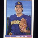 1991 Bowman Baseball #263 Dave Burba RC - Seattle Mariners