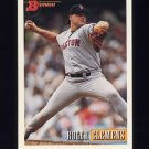 1993 Bowman Baseball #635 Roger Clemens - Boston Red Sox
