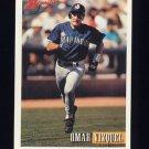 1993 Bowman Baseball #599 Omar Vizquel - Seattle Mariners