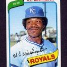 1980 Topps Baseball #508 U.L. Washington - Kansas City Royals NM-M