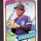 1980 Topps Baseball #505 Bert Campaneris - California Angels