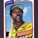 1980 Topps Baseball #501 Rennie Stennett - Pittsburgh Pirates