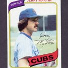 1980 Topps Baseball #493 Jerry Martin - Chicago Cubs