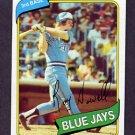 1980 Topps Baseball #488 Roy Howell - Toronto Blue Jays