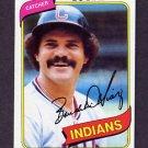 1980 Topps Baseball #483 Bo Diaz - Cleveland Indians
