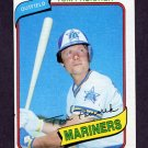 1980 Topps Baseball #481 Tom Paciorek - Seattle Mariners