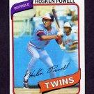 1980 Topps Baseball #471 Hosken Powell - Minnesota Twins