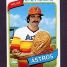 1980 Topps Baseball #469 Randy Niemann RC - Houston Astros