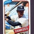 1980 Topps Baseball #460 Willie Randolph - New York Yankees Ex