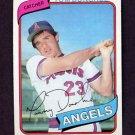 1980 Topps Baseball #454 Tom Donohue RC - California Angels