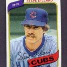 1980 Topps Baseball #452 Steve Dillard - Chicago Cubs