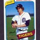 1980 Topps Baseball #445 Mark Fidrych - Detroit Tigers NM-M