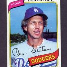 1980 Topps Baseball #440 Don Sutton - Los Angeles Dodgers Ex