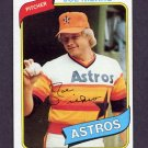 1980 Topps Baseball #437 Joe Niekro - Houston Astros Ex