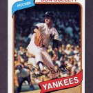 1980 Topps Baseball #435 Don Gullett - New York Yankees