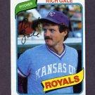 1980 Topps Baseball #433 Rich Gale - Kansas City Royals