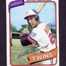 1980 Topps Baseball #432 Willie Norwood - Minnesota Twins