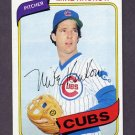 1980 Topps Baseball #431 Mike Krukow - Chicago Cubs