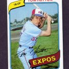 1980 Topps Baseball #427 Tom Hutton - Montreal Expos