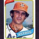 1980 Topps Baseball #411 Frank LaCorte - Houston Astros