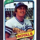 1980 Topps Baseball #389 Pete LaCock - Kansas City Royals