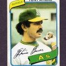 1980 Topps Baseball #391 Tony Armas - Oakland A's Vg