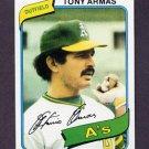 1980 Topps Baseball #391 Tony Armas - Oakland A's NM-M