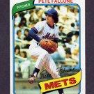 1980 Topps Baseball #401 Pete Falcone - New York Mets ExMt