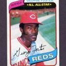 1980 Topps Baseball #400 George Foster - Cincinnati Reds Vg
