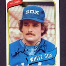 1980 Topps Baseball #399 Mike Proly - Chicago White Sox