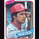 1980 Topps Baseball #377 Junior Kennedy - Cincinnati Reds